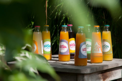 Looza bottles in the wild