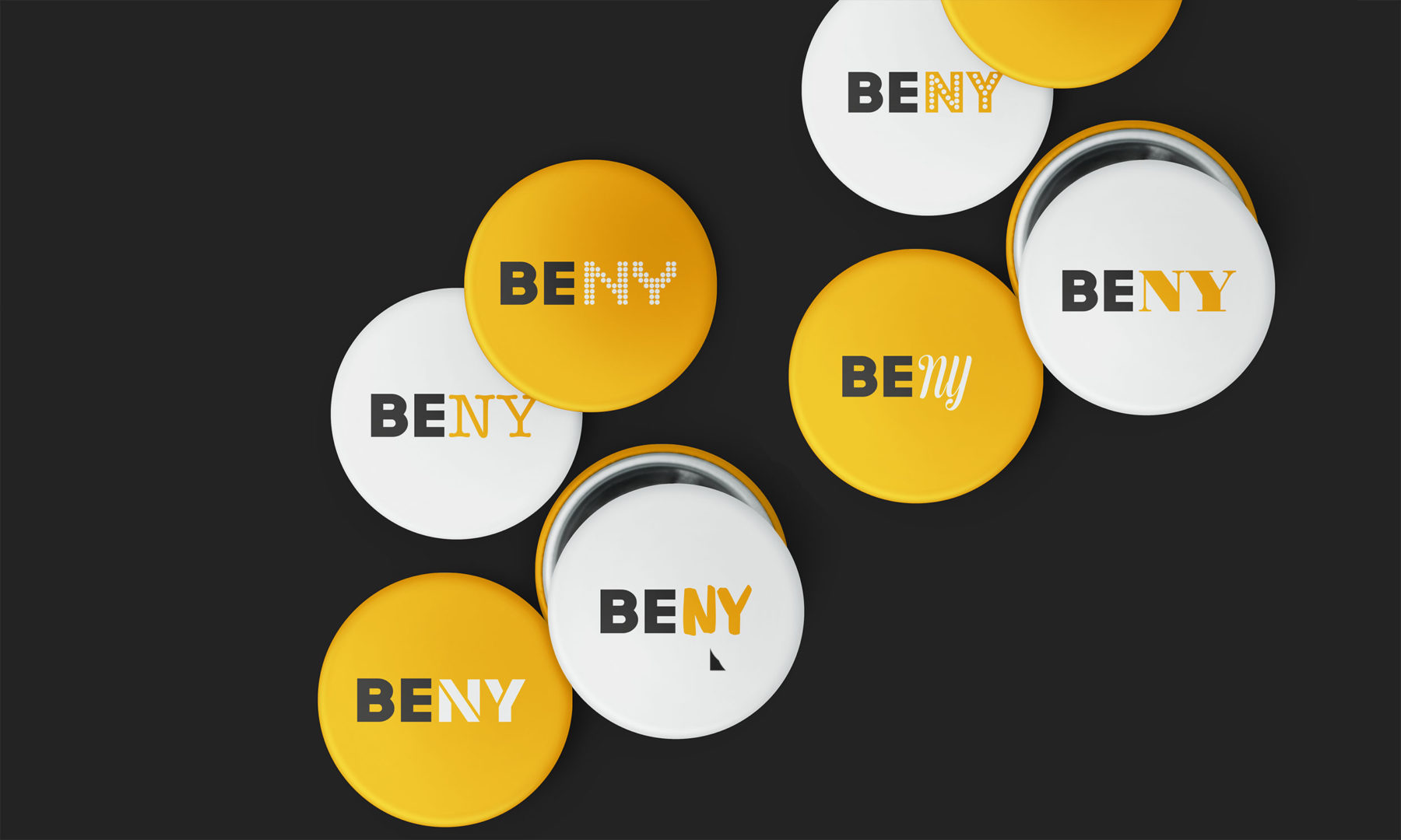 BENY buttons