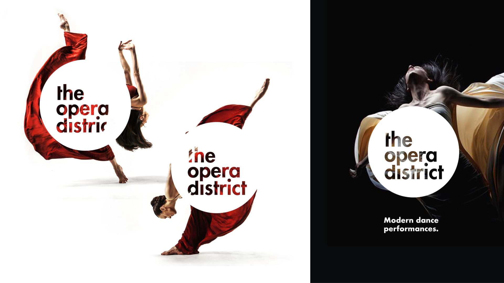 Posters for the Opera District