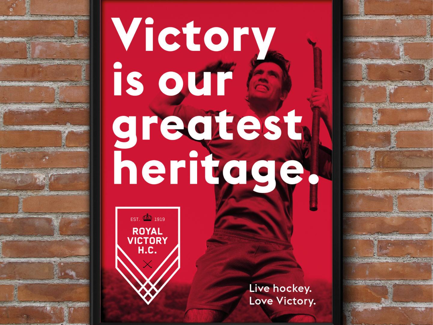 Victory frame