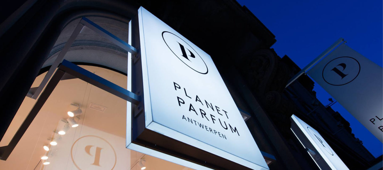 Planet Parfum store front
