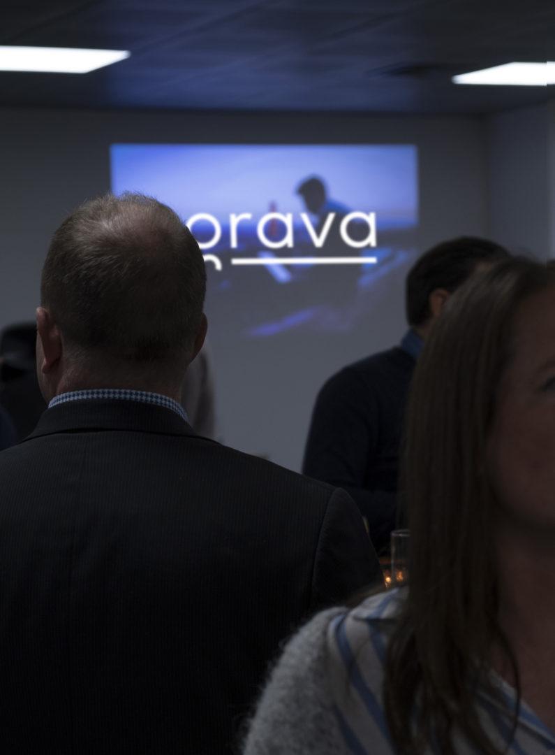 Grava event launch party