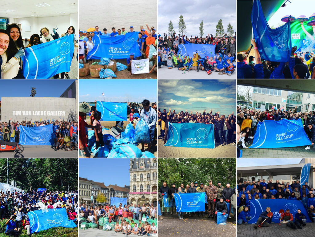 River Cleanup's branding and ambition inspires thousands of people