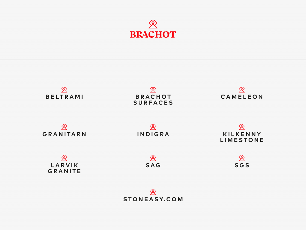 Brachot-Hermant branding - Building a solidified family that reinforces the group's powerful connection