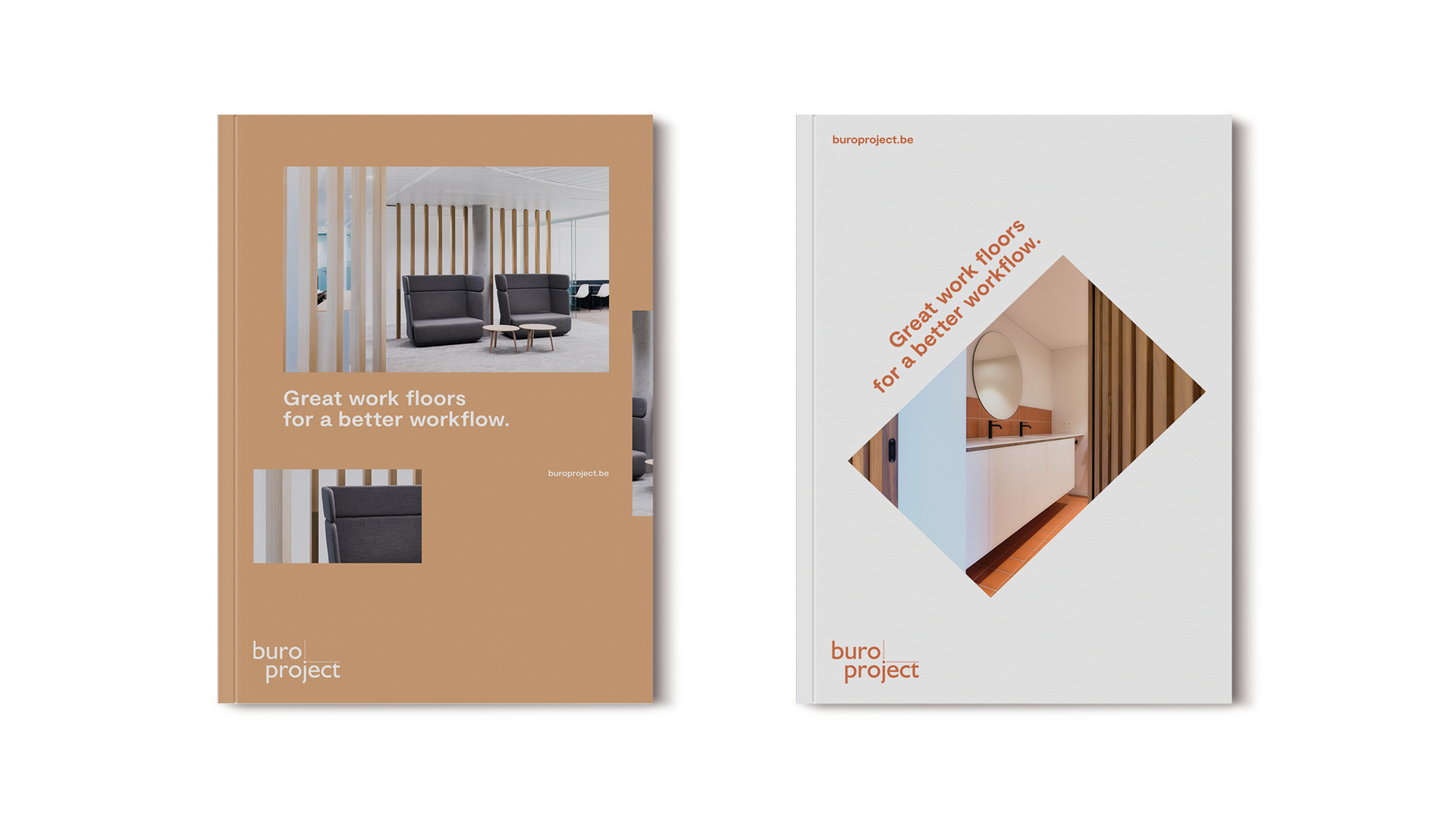 Buro Project reranding: brochure