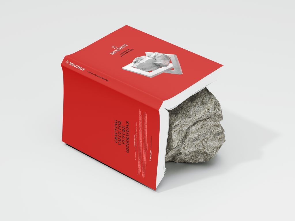 Brachot-Hermant branding - communicating a solidified family through a wide array of applications