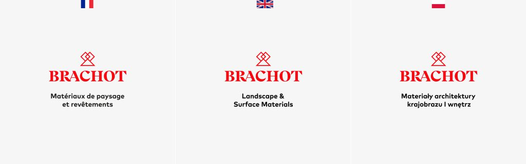 Brachot-Hermant branding - Building a solidified family containing adaptations per country